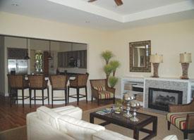 A photo of a condo's interior : The Preserve at the Clam Farm